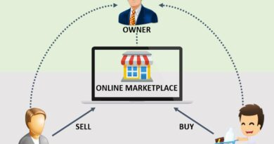 How do online marketplace make money