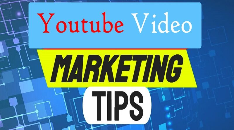 video marketing tips for youtube